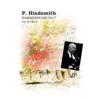 کتاب پارتیتور موسیقی مجلسی شماره 7 اثر پائول هیندمیت